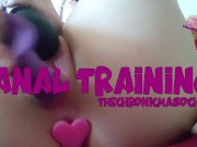 anal training preview, full clip avail on my profile