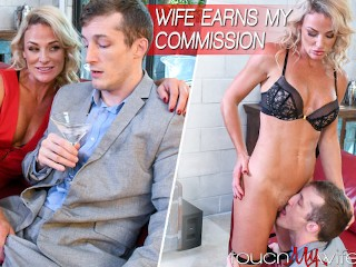 Hot Fit Wife Fucks My Boss To Close Business Deal