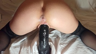 Horny Babe needed a REAL DICK to make her cum like never before - 4K