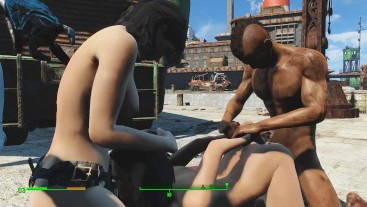 Fallout 4 Piper gets fucked in different positions and different characters games | Porno Game