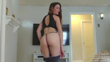 Mom Discovers Stepson's Panty Fetish POV - Virtual Sex