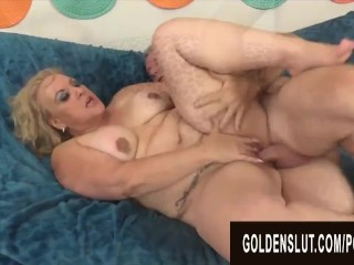 Golden Slut – Stunning Mature Blondes Getting Drilled Compilation Part 7