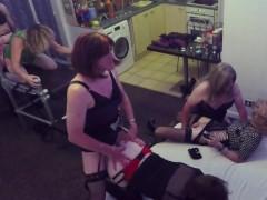 6 TGirl Orgy Party - Part 1