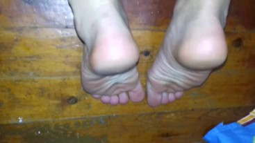 Hot Feet Close Up