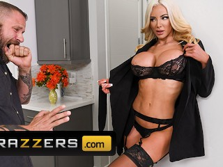 Brazzers - Big Tits Nicolette Shea Wasn't Satisfied With Her Husband Dick