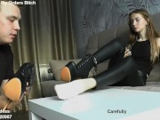 Teaser Clips 40 - Headscissors - Knock Out - KO - Facesitting - Foot Domination
