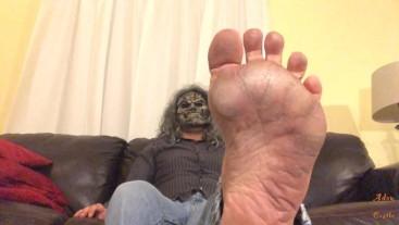 Zombie Gay Dirty Foot Worship POV