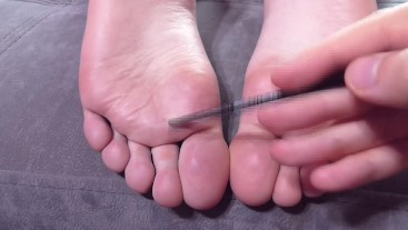 A TICKLE TORTURED 20 YEAR-OLD FANTASY