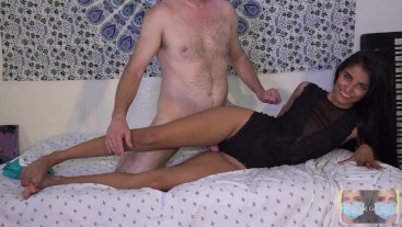 Let Me Fuck Your Thigh Gap! Quarantined Intercrural Sex With Asian Long Tan Legs