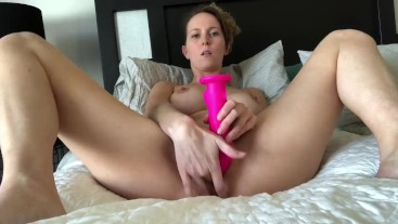 Watch me cum-Mommy's alone time