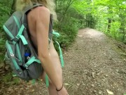 Beautiful Slutty Amateur Teen Sarah Evans Hiking Naked On Public Hiking Trails. Visit Her OnlyFans
