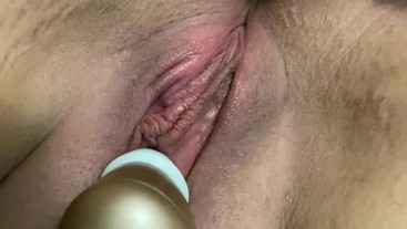 Intense Quick orgasm from Clit sucking vibrator