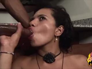 Smokin Hot Colombian Babe Vivan Goody Blacked