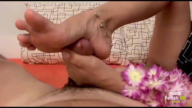 Big black dick with trailer The perfect arches of andreas feet masturbating my dick french toes footjob trailer