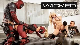 Wicked Deadpool Finally Fucks In His Porn Parody