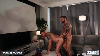 Mencom - Handsome Tyler Berg Drilling Matt Anders' Ass With His Raw Cock
