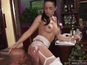 Threesome Sex with two extrem Slutty Girls