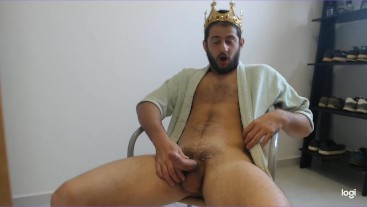 Tyrant naughty King Gary domination joi hard cock and cum countdown