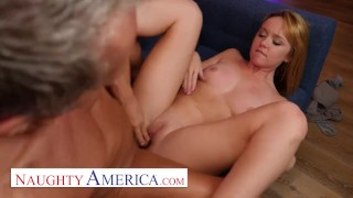 Naughty America - Nikole Nash always wanted to fuck her friend's DAD