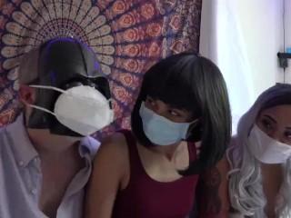 Mask fetish/verified models/he daddies quarantine will vader
