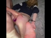 First time anal... AND HE GAVE ME AN ANAL CREAMPIE
