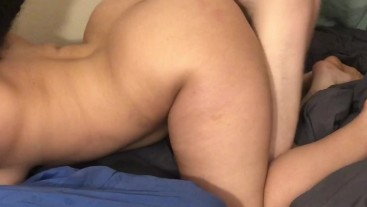 It's Too Big Daddy... But Don't Stop (Whimpering Rough Fuck Doggy Style & Prone Bone)