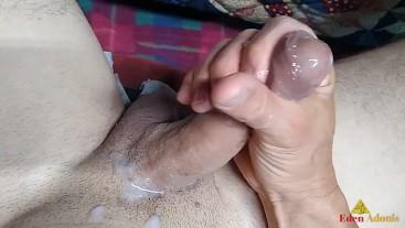 Huge human glue after been Horn Dog 4 three days