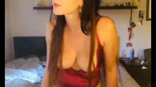 Artemisia Love smoking with boobs out