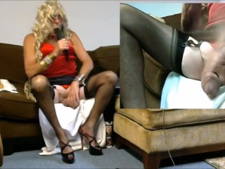 3 Dildos a Lovense Lush2 Vibe Make a Lot of Fun For Webcam Viewers and Private Show