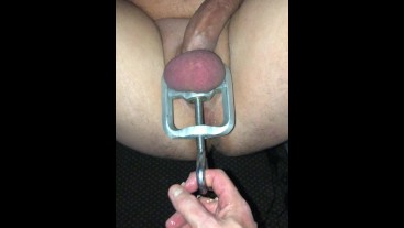 Retained and Edged. Great cum shot