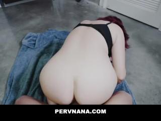 PERVNANA – Birthday Sex Surprise From My GILF Mature Stepgrandma