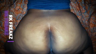Thick Dominican Booty On Big Black Cock Slow Motion