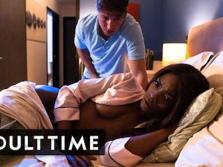 Caught Fapping - Caught Wanking to His Girlfriends Roomie Ana Foxxx