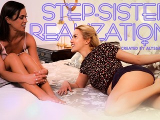 MODEL TIME Step-Sisters Realize They Are Horny for Each Other