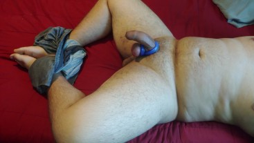 Virgin Latino Masturbating With Some Of His Toys Until He Cums TWICE (Mess At End)
