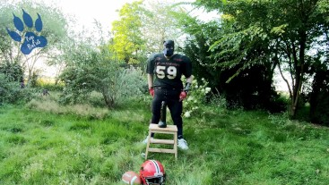 """Football-Pup outdoor training session with """"David"""" of team HungR"""