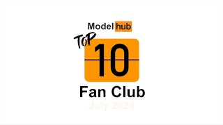 Pornhub Model Program Top Fan Clubs of July 2020