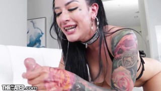Throated – No One Gives A Sloppy Blowjob Like Katrina Jade