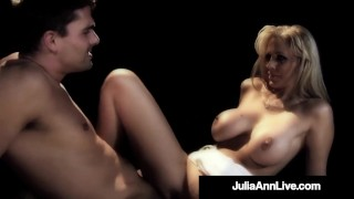Porn Musical? No! It is Milf Julia Ann Banged On Broadway!