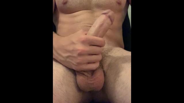 Solo Male Edging Cumshot