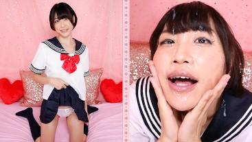 Uncensored Japanese Teen Schoolgirl Miko Kurozuki Gives Teacher Messy Deepthroat and Facefuck