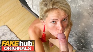 FAKEhub Blonde Claudia Macc fucked by hubby in homemade sextape