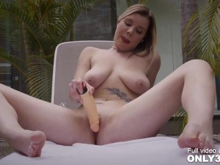 Bewitching Mary Monroe twitching on her explosive orgasm - scene by Only3x Girls