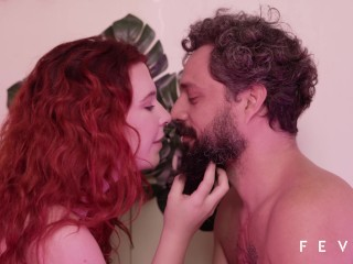 Sexy redhead fucking with fruits, vegetables and mature man - TRAILER ORGANIC sexy thic girls instag