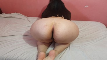 Annie Teen wants more Anal Sex, Gape and Ass to Mouth - Homemade Anal