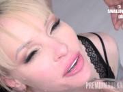 Premium Bukkake - Lola Taylor swallows 67 huge mouthful cum loads lesbian bukkake videos