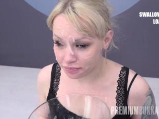 Premium Bukkake – Lola Taylor swallows 67 huge mouthful cum loads