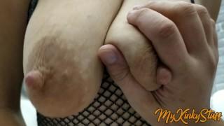 Fucking A Kinky Girl With Big Saggy Tits POV