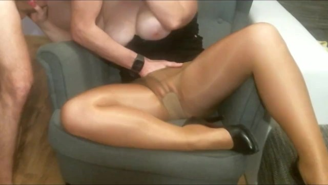 Rob schneider xxx comedy Sex on the armchair. wife in pantyhose pussy licking orgasm