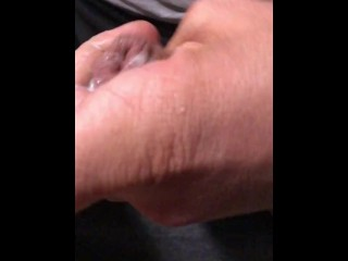 27 years old boy jerkoff big cock and cums twice